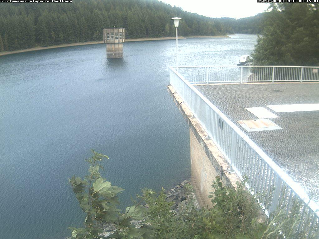 Webcam Trinkwassertalsperre Mauthaus
