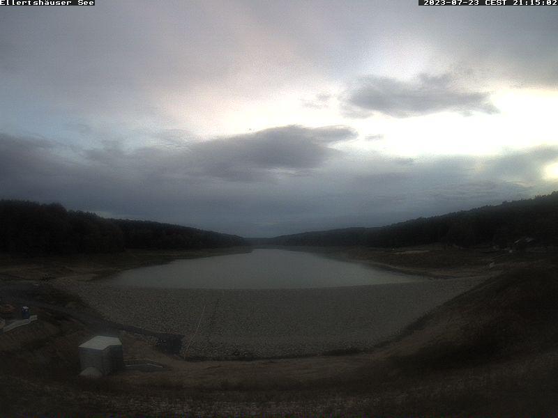 Webkamera-Bild am Ellertshäuser See