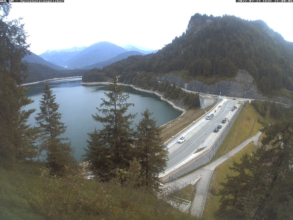 Webcam Sylvensteinspeicher